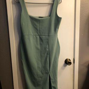 Nasty gal Sage dress with slit